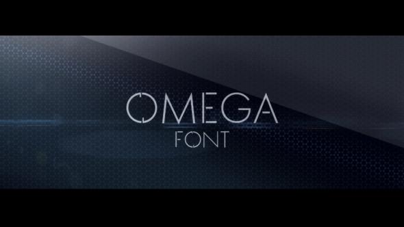 OMEGA font