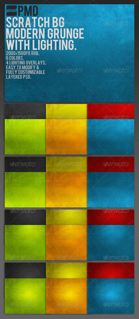 ScratchBG - Modern Grunge Backgrounds - Backgrounds Graphics