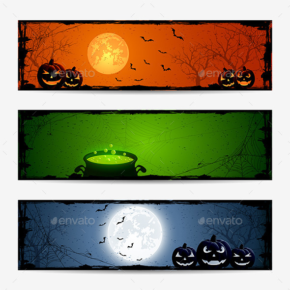 Halloween Banners - Halloween Seasons/Holidays