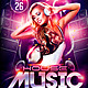 House Music DJ Flyer - GraphicRiver Item for Sale