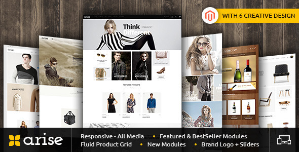 Arise - Magento Responsive Theme - Fashion Magento