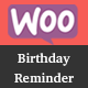 WooCommerce BirthdayReminder - CodeCanyon Item for Sale