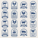 Big Set of Meat Labels - GraphicRiver Item for Sale