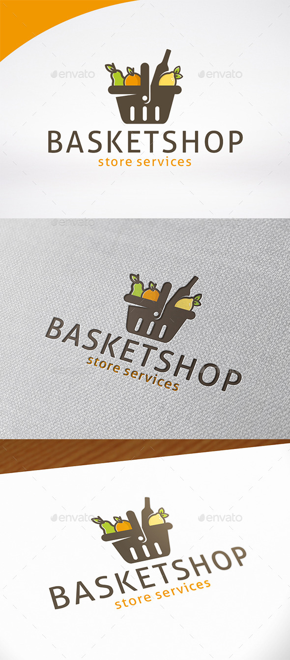 Supermarket Logo Template by BossTwinsMusic | GraphicRiver