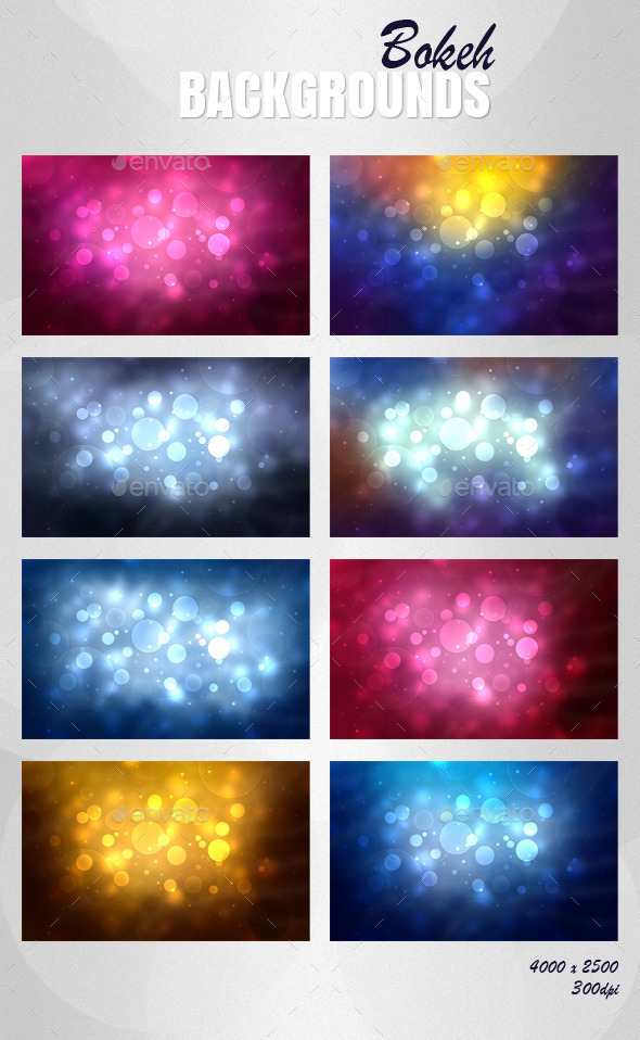 Bokeh Background - Abstract Backgrounds