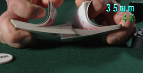 Mixing Poker Cards 22