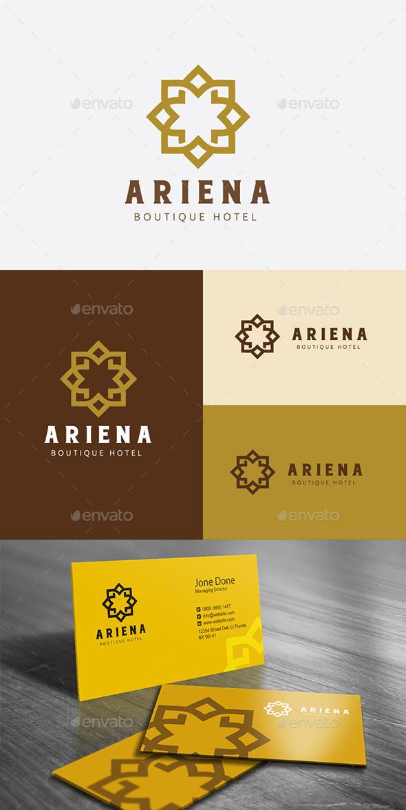 Boutique Hotel - Crests Logo Templates