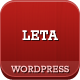 LETA - Responsive VCard WordPress Theme Nulled
