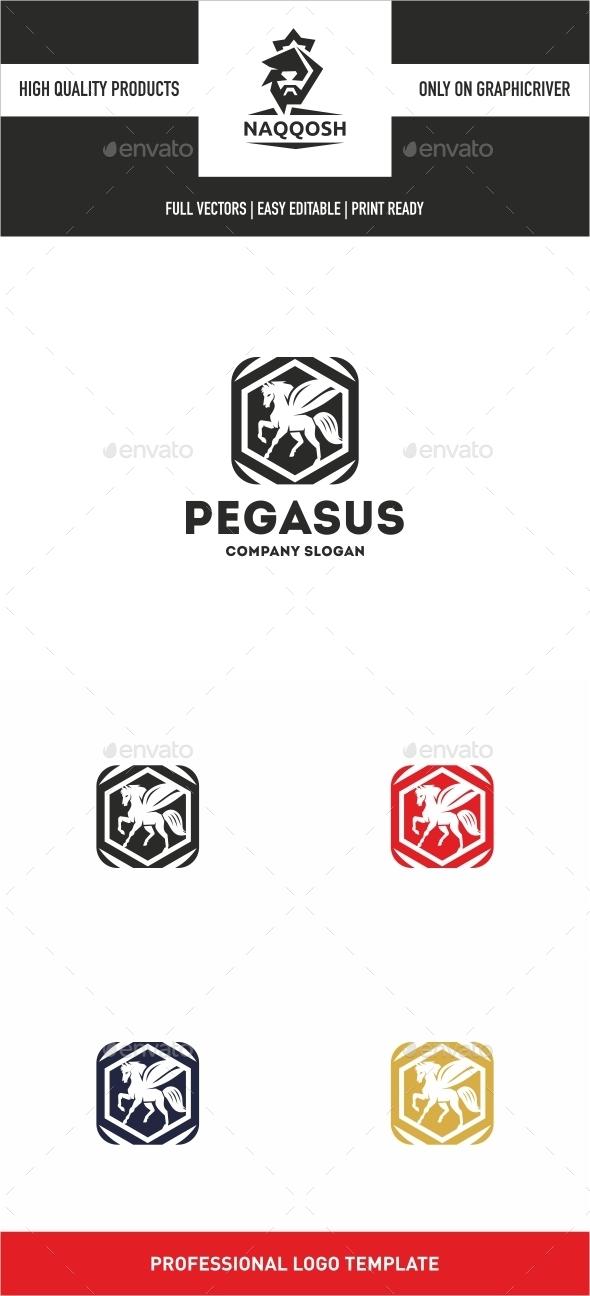 Pegasus - Symbols Logo Templates