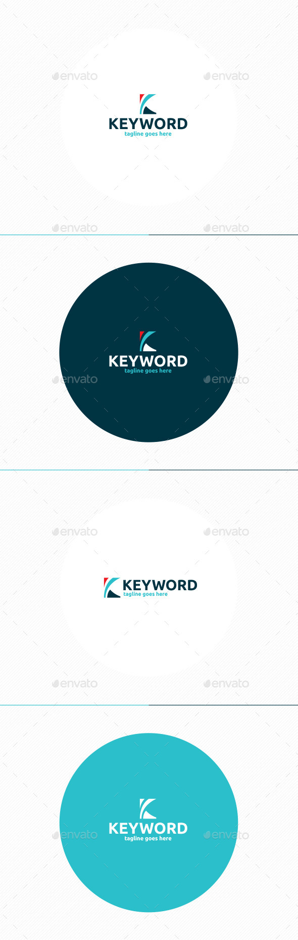 Keyword Logo • Letter K - Letters Logo Templates