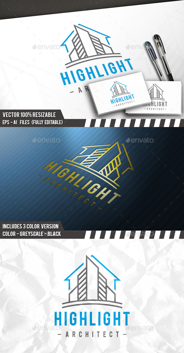 City Construction Logo - Buildings Logo Templates