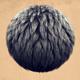 Dark Hair Clump - 3DOcean Item for Sale