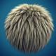 Bright Hair Clump - 3DOcean Item for Sale