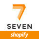 Seven Store - Multipurpose Responsive Shopify Theme Nulled