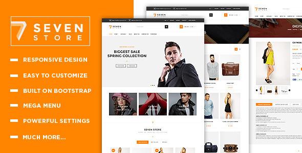Seven Store – Multipurpose Responsive Shopify Theme