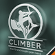 Mountain Climber Logo - GraphicRiver Item for Sale
