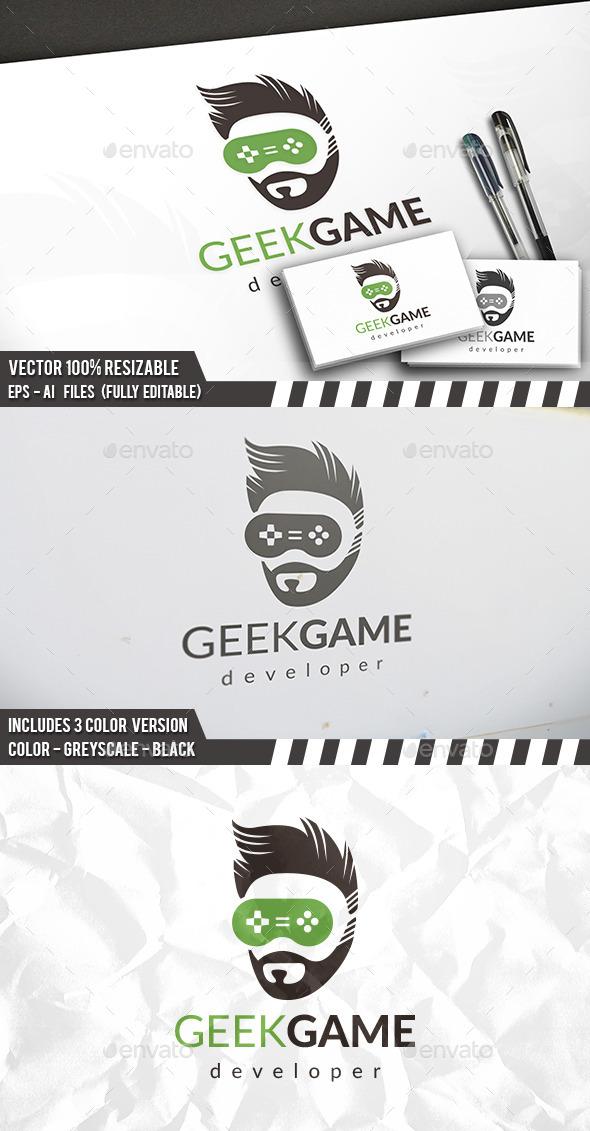 Gamer Logo - Humans Logo Templates