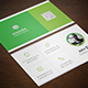 Minimalist Corporate Business Card - GraphicRiver Item for Sale