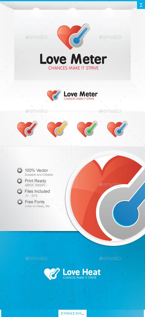 Love Heat Logo - Symbols Logo Templates