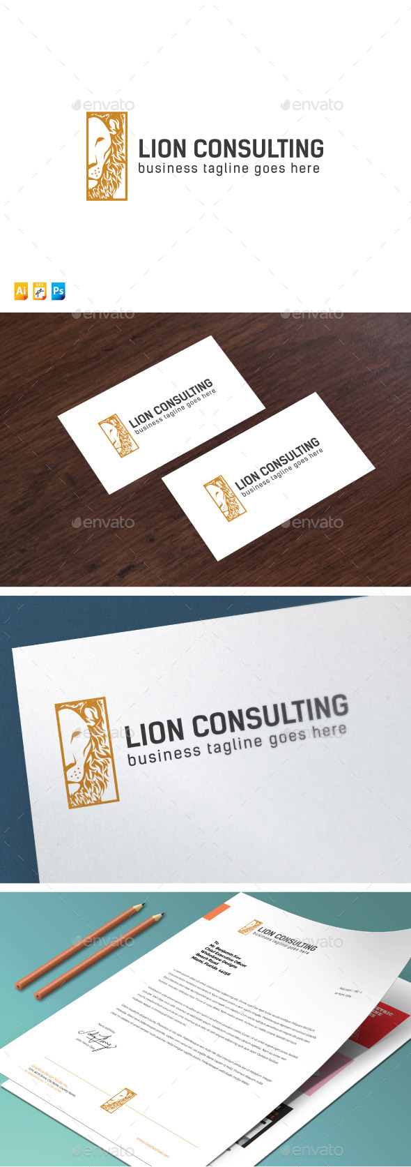 Lion Consulting - Objects Logo Templates