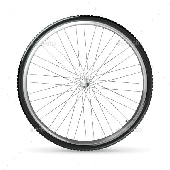 Bicycle Wheel - Man-made Objects Objects