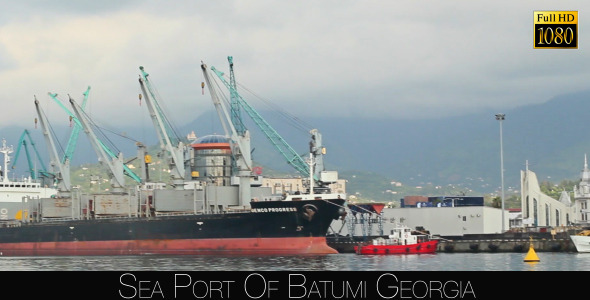 Sea Port Of Batumi 4