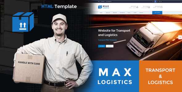 Max Logistics – Transport & Logistics HTML Template