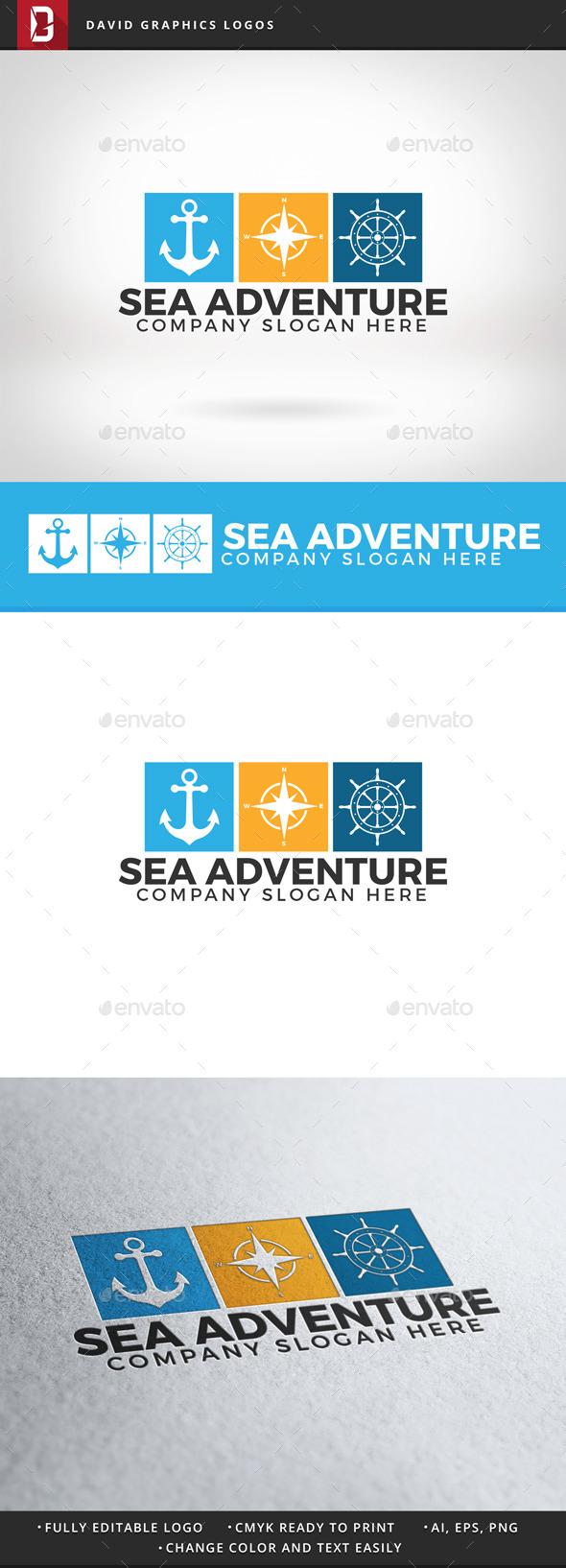Sea Adventure Logo - Nature Logo Templates