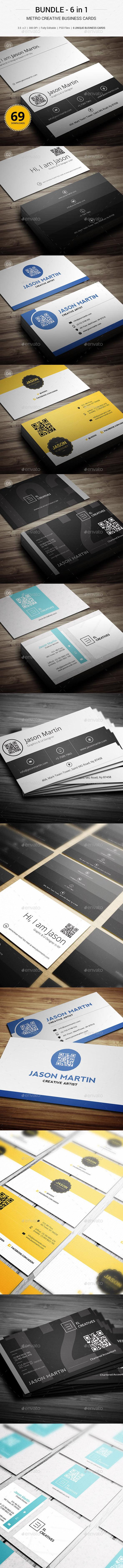 Bundle - Metro Creative Business Cards - 147 - Creative Business Cards