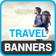 Travel Banners v6 - GraphicRiver Item for Sale