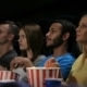 Group Of Friends Watching Film In Cinema - VideoHive Item for Sale
