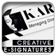 Creative Signatures Template - GraphicRiver Item for Sale