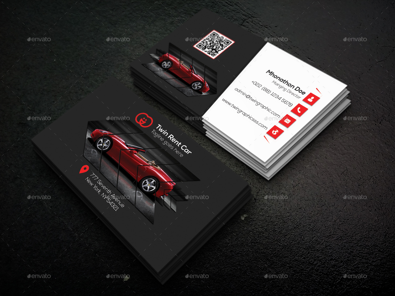 Rent car business card design by twingraphic graphicriver design business cards print templates screen sort01g screen sort02g magicingreecefo Choice Image