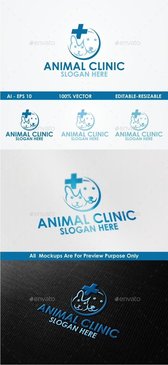 Animal Clinic - Animals Logo Templates
