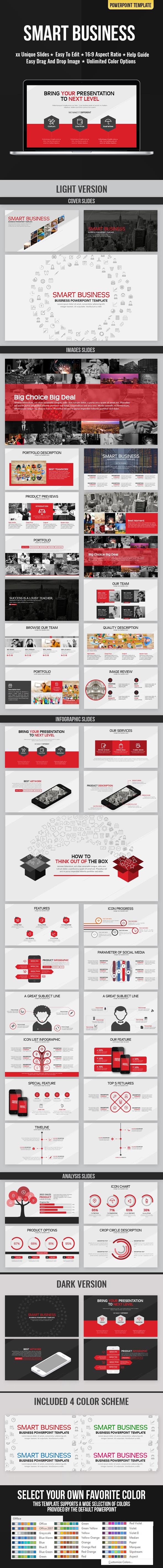 Smart Business Presentation - Business PowerPoint Templates