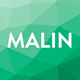 MALIN - Perfect Coming Soon Template Nulled