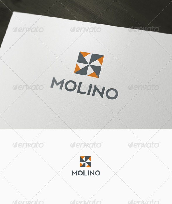 Abstract Mill Logo - Abstract Logo Templates