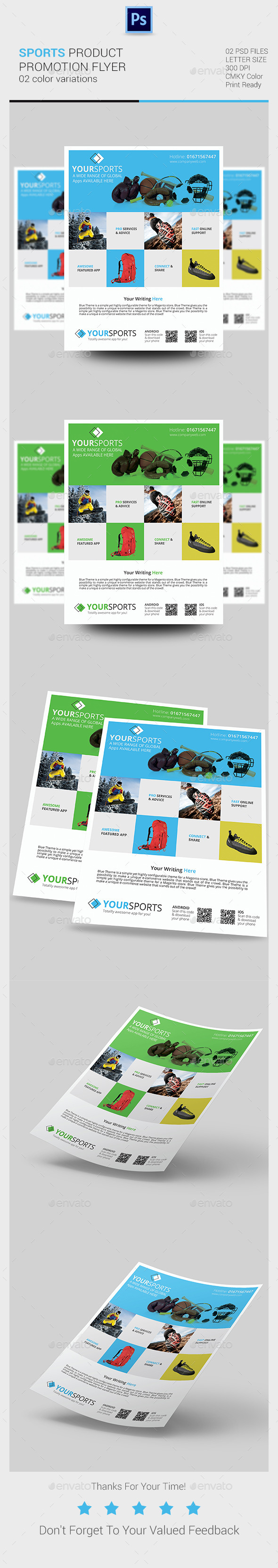 Sports Product Promotion Flyer - Sports Events