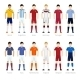 Soccer Team Players - GraphicRiver Item for Sale