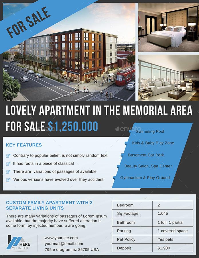 apartment sell flyer by dotnpix