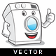 Washing Machine Mascot - GraphicRiver Item for Sale
