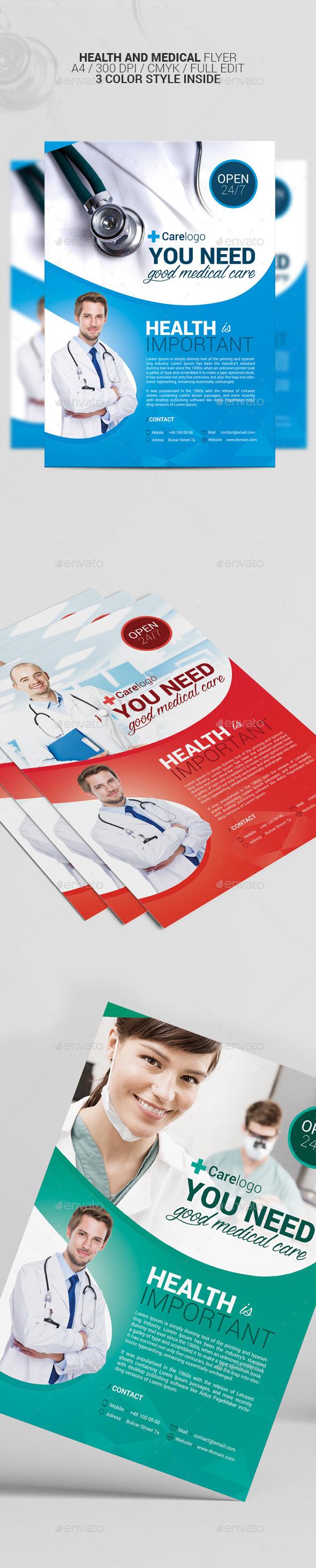 Health Flyer - Corporate Flyers