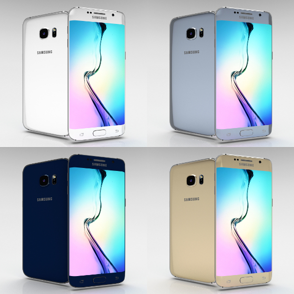 Samsung Galaxy S6 Edge Plus All Color Pack - 3DOcean Item for Sale