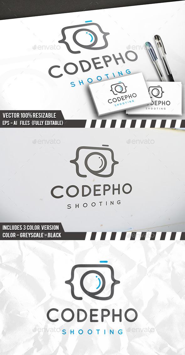 Code Photo Logo - Symbols Logo Templates