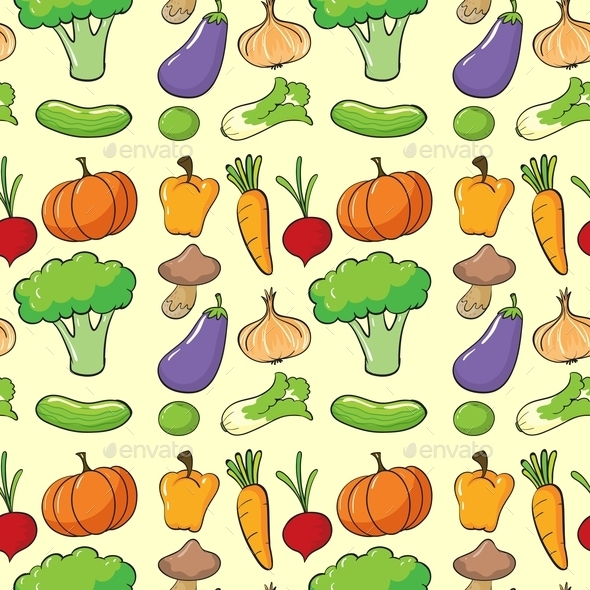 A Vegetables - Backgrounds Decorative
