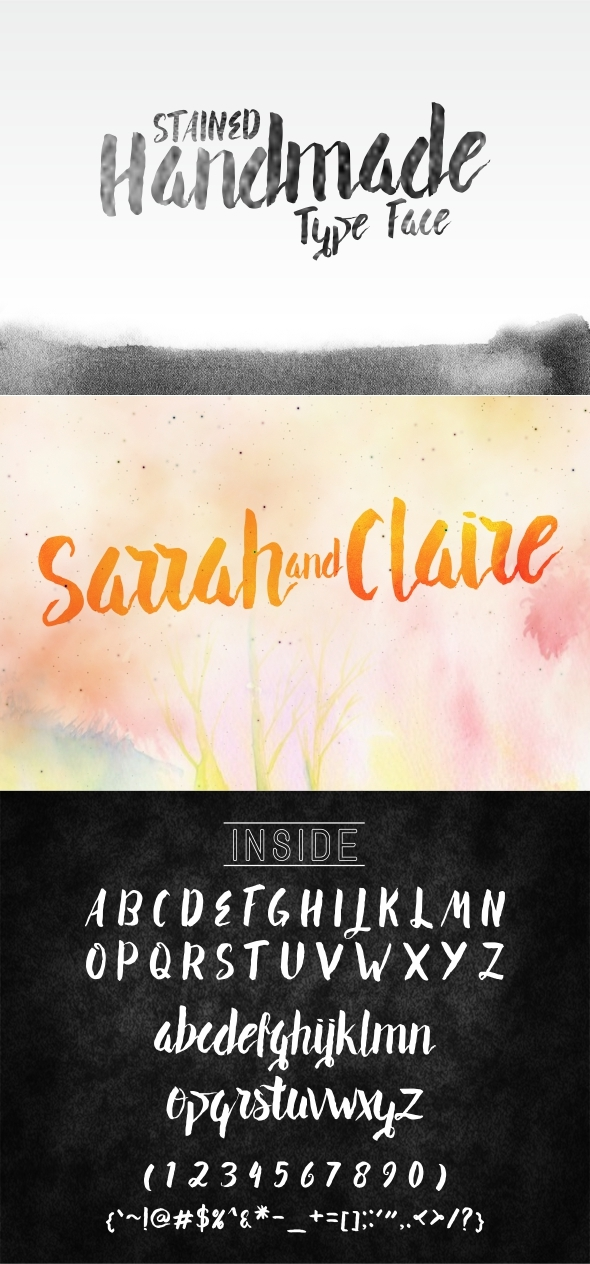 Sarrah and Claire - Fonts