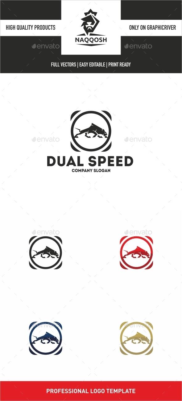 Dual Speed - Symbols Logo Templates