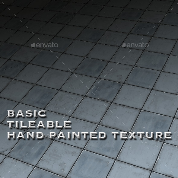 Basic Tile-able Stone Floor Hand Painted