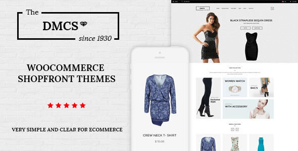 The DMCS – WooCommerce Theme