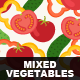 Mixed Vegetables - GraphicRiver Item for Sale